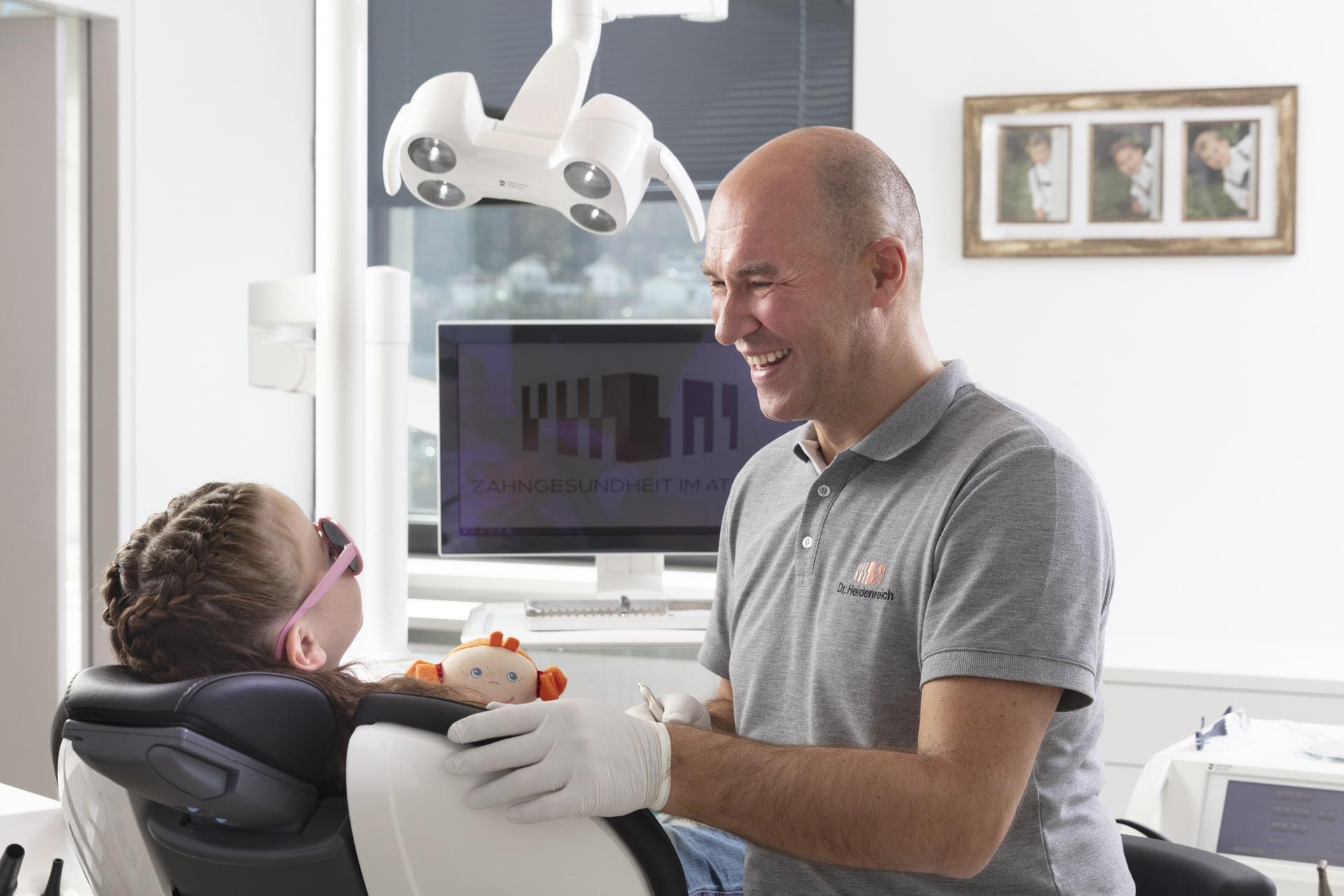Kinder Zahnarzt Innsbruck - Ordination Dr. Lars Heidenreich